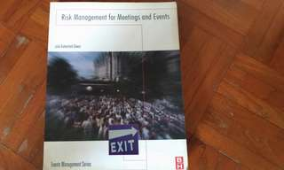 Risk Management for meeting and events , Julia Rutherford Silver