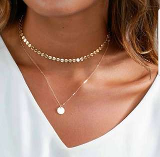 Layered Necklace (Bohemian style)