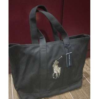 Brand New Ralph Lauren Polo Big Pony Ladies Tote Bag Large