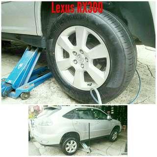 Tyre 225/65 R17 Membat on Lexus RX300 🐕 Super Offer 🙋♂️