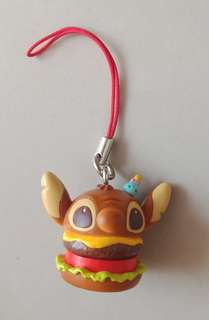 Stitch Burger Mobile Charm Chain