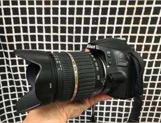 Nikon D3200 (lensa tele 18-200)