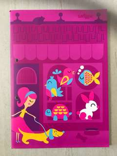 Smiggle A4 Note Pad