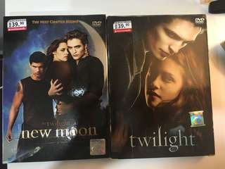 Twilight & New Moon Dvd