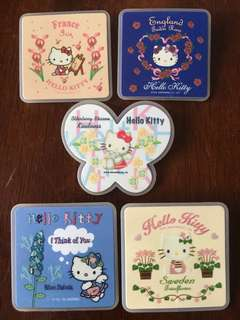 Hello Kitty 各國襟章 扣針