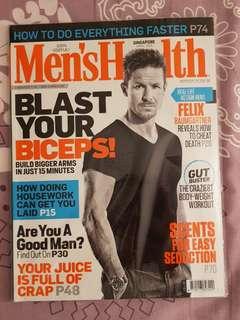 Felix Baumgartner - Men's Health Singapore Magazine Apr 2015