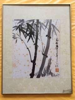 画家欧世鴻 Chinese painting