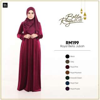 Royal Bella Jubah Bella Ammara
