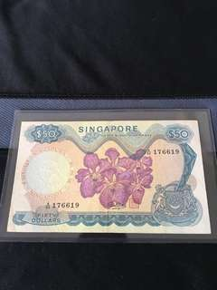 Error (176619) Orchid $50 Note