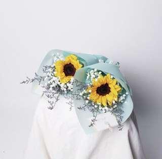 Graduation bouquet / sunflower bouquet