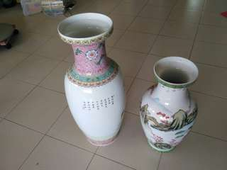 Two Antique Vases (Set)