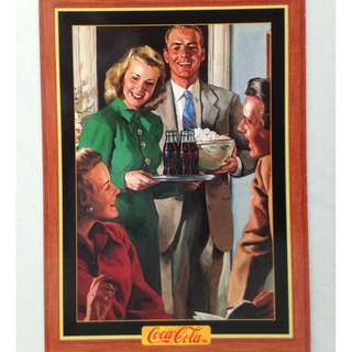 1995 Coca Cola Series 4 Base Card #337 - Original Art - 1947