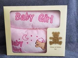 Baby gift set- Pillow & Bolster Set