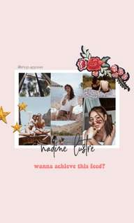 HOW TO EDIT LIKE NADINE LUSTRE