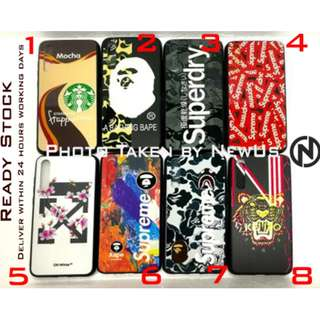 Phone Case Supreme Starbuck Aape Kenzo CASE with 3d texture