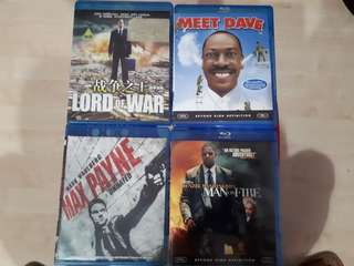 Single Bluray Movies for Sale 1