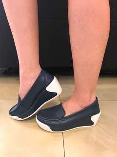 Onca comfy shoes-wedges-super comfy-navy color-size 36