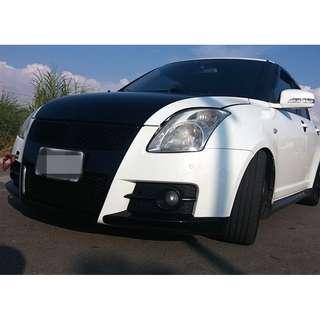 2007年 白 鈴木SWIFT T3包 1.5L 全車系0頭款!! 讓你不用現金把車開回家