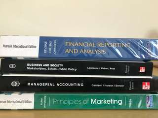 Business Finance Accounting Books