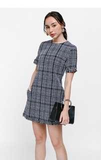 BNWT Delphy Tweed Dress