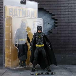 1989 Batman Michael Keaton Action Figure 7 Inch Scale DC Universe Justice League Suicide Squad Dark Knight