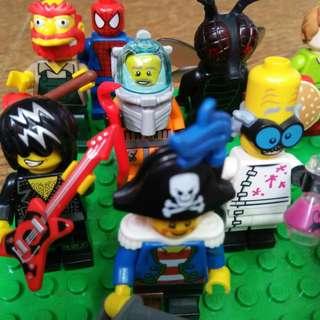 LEGO Minifigure 100% Original(Baca Deskripsi)