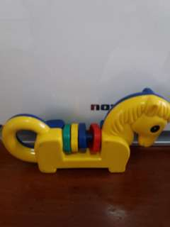 Vintage baby toy