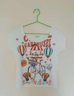 Etiquetta Carousel Top