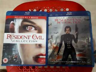 Bluray Movies Resident Evil