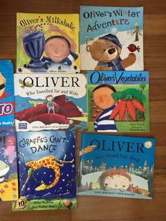Preloved Award Winning Children Books bundle of 12 books