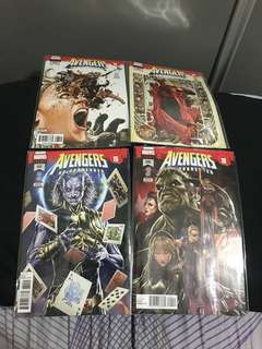 Marvel comics avengers 687-690