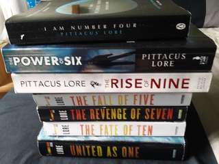 Pittacus Lore I am Number Four Series (Complete Books)