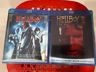 Bluray Movies Hellboy