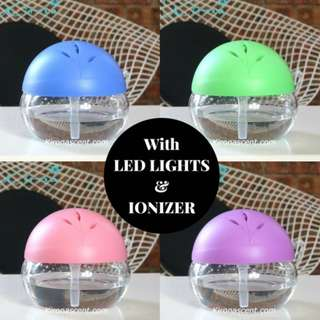 Air Purifier/Aroma Diffuser + Ionizer + LED Light! Avail in 4 colours. Lucky Sphere Air Purifier. Aromatherapy.