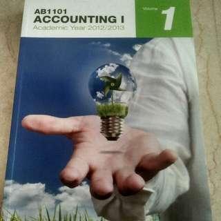 AB1101 Accounting I