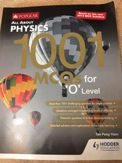 Physics O Level Assessment book