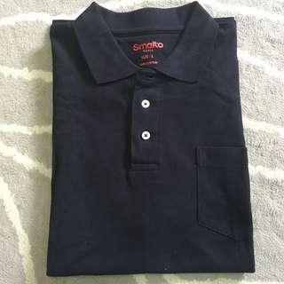 Smalto Men shirt Black collar