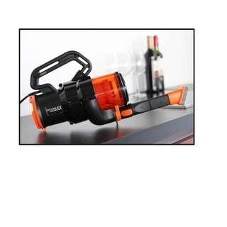 Vacuum Cleaner Orange Cyclone Handbag Like Twin Bird