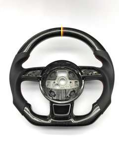 Audi A4 B8 carbon steering