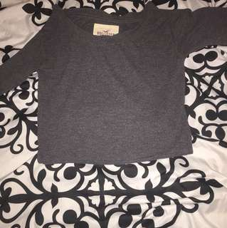 Extra small Hollister long sleeve crop sweater