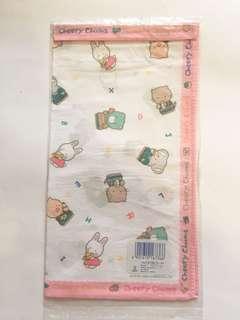 Sanrio vintage Cheery Chums 手巾1986