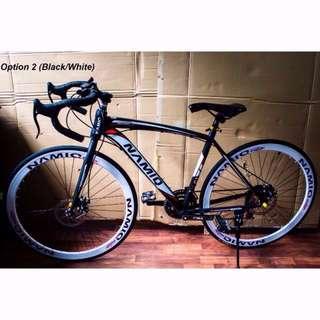 Black/White Namiq Road Bike [Brand New, Ready Stocks] SALE U.P $210
