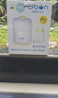 Bottle steamer