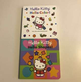 Hello Kitty Color & Shapes books