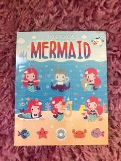 210 Mini Stickers <Mermaid>