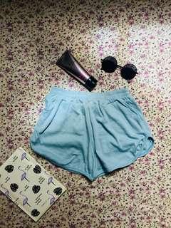 Pastel Blue Dolphin Shorts