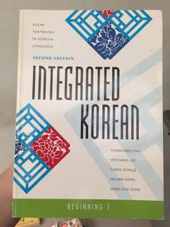 Integrated korean beginnjng 1 - klear textbook