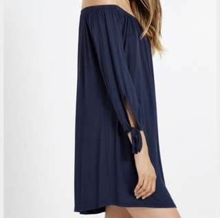 ⚡️FLASH SALE⚡️ Off shoulder black dress