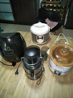 4 Kitchen Appliances!