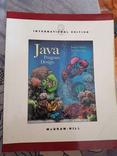 linear algebra / java /object oriented design /database textbook